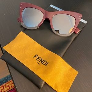 Fendi Cat Eye Sunglasses